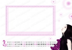 2016-11-30 【日历模板】GRD0227_女孩 - GRD0227 (13P)