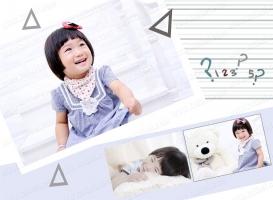 2017-03-27 【儿童模板】GEI1141_简洁风竖版儿童模板6 - GEI1141 (8P)