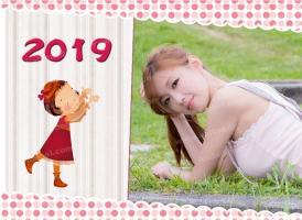 2018-09-27 【日历模板】GRD0232_2019台历模板 - GRD0232 (13P)